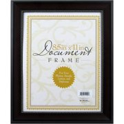 8.5x11 Mahogany Document Picture Frame