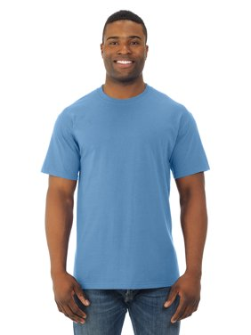 Fruit Of The Loom Mens HD Cotton Short Sleeve Crew T-Shirt, 2XL, Violet