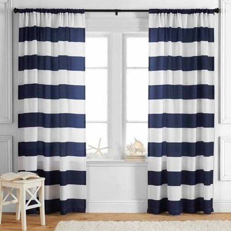 Better Homes and Gardens Stripes Curtain (Bradford Stripe)