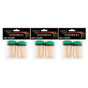 (3 Pack) Toothpicks, 500 Count