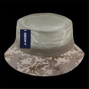 b5ef165fb6c ... extra large. Product Image. decky 458-pl-ddg-07 mesh bucket hats  44   desert digital