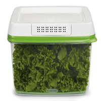 Rubbermaid FreshWorks Produce Saver Food Storage Container, 17.3 Cup/4.09 Liter, Green