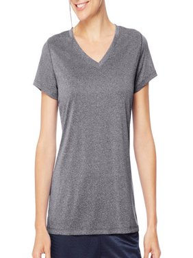 Sport Women's Heathered Performance V-Neck Tee