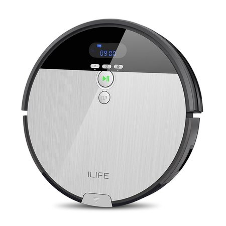 ILIFE V8s Pro 2-In-1 Vacuuming & Mopping Robot Vacuum Cordless Smart Vacuum Robot With Camera Navigation Climping Free Roll Brush With Max Mode Great For Undercoat (Best Undercoat For Mdf)