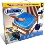 Egg Sitter Gel Flex Seat Cushion by BulbHead, Breathable Honeycomb Design Absorbs Pressure