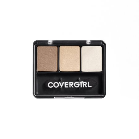 COVERGIRL Eye Enhancers 3-Kit Eyeshadow, 105 Cafe Au