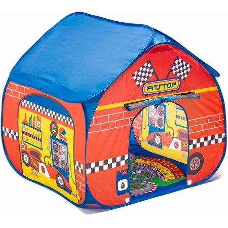Fun2give Pop It Up Pit Stop Tent With Race Mat Walmart Com