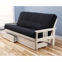 Monterey Futon Sofa with Suede Black Mattress