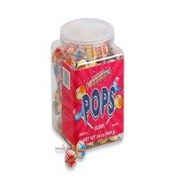 Smarties Pops, Jar, Wrapped, 34 Oz, 120 Ct
