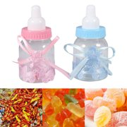 HURRISE 12Pcs Candy Chocolate Bottles Box For Girl Boy Baby Shower Party Favors Gifts Decorations ,