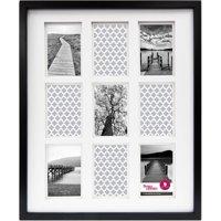 Better Homes & Gardens 9-Opening Thin Gallery Frame, Black