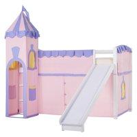 NE Kids School House Princess Loft Bed