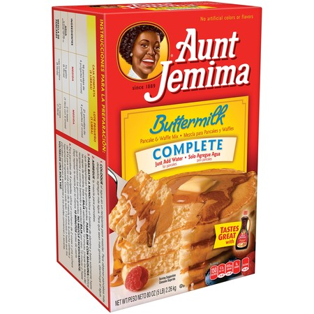 Oat Bran Pancake Mix - (6 Pack) Aunt Jemima Buttermilk Complete Pancake & Waffle Mix 80 oz Box