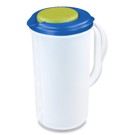 Roommates Pitcher - Sterilite 2 Qt. Round Pitcher, Assorted