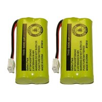 Replacement Battery for V-Tech 8300/ 6010/ BT18433/ 3101/ 6010/ DS6201 Phone Models (2 Pack)