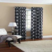 Black Curtains Amp Window Treatments Walmart Com