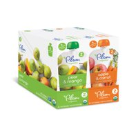Plum Organics Pouches Pick any 2 (6pk) and receive $2 off