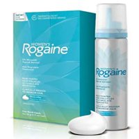 Women's Hair Regrowth Treatment Foam, 4 Month Supply, Four Month Supply: 2 x 60 g cans of once-a-day hair regrowth treatment foam By Rogaine