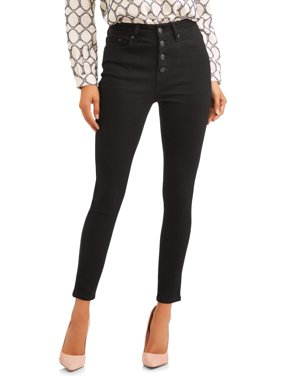Women's Button Fly Skinny Jean