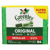 Greenies Regular Size Dental Dog Treats, 54 Oz