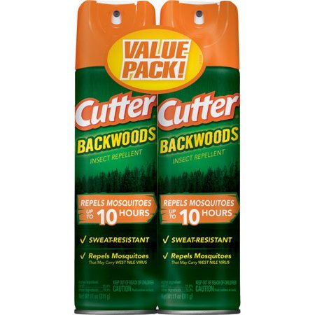 Cutter Backwoods Insect Repellent, Aerosol, (Based Insect Repellent)