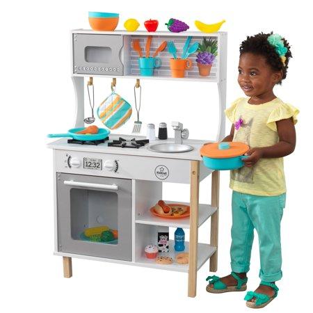 kidkraft all time play kitchen with accessories walmart com rh walmart com
