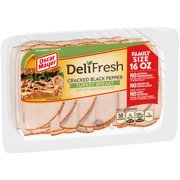 Oscar Mayer Deli Fresh Cracked Black Pepper Turkey Breast, 16 Oz.