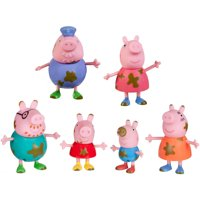 Peppa Pig - 3in Muddy Puddles 6-pk