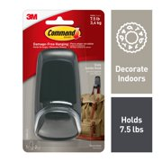 Command Jumbo Slate Hook, 1 Hook, 2 Strips/Pack
