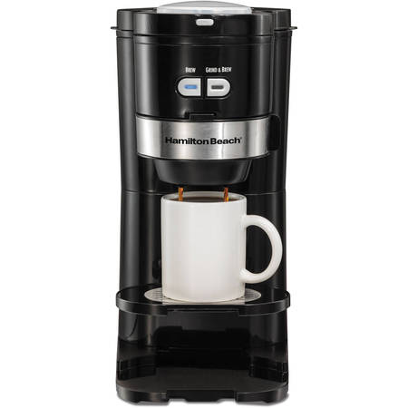 Hamilton Beach Single Serve Grind and Brew Coffee Maker | Model# 49989