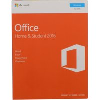 Microsoft Office Home & Student 2016 (PC) - English