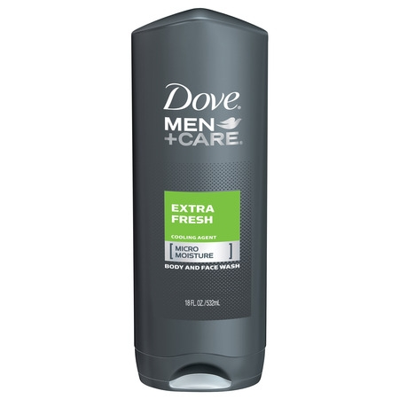 Dove Men+Care Extra Fresh Body Wash, 18 oz