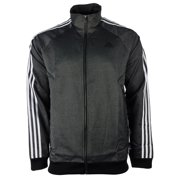 e06906a8e Adidas Essentials 3-Stripe Woven Track Top - Black/White - Mens - S