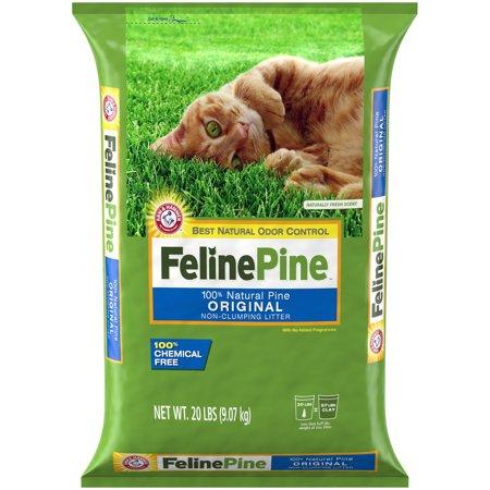 Feline Pine Original Cat Litter, 20lb ()