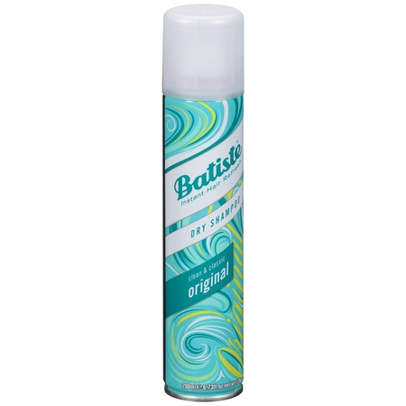 Batiste Dry Shampoo Original Clean & Classic Instant Hair Refresh, 6.73 fl oz Dry Shampoo Hair Powder