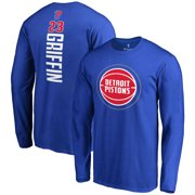 Blake Griffin Detroit Pistons Fanatics Branded Backer Long Sleeve T-Shirt -  Blue ff44c7437