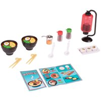My life as ramen dinner play set for dolls, designed for ages 5 and up