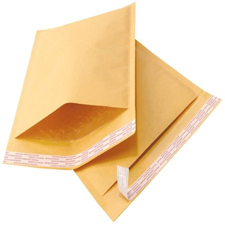 50 6x10 Kraft Bubble Mailers Padded Envelope Shipping Bags Usable 6
