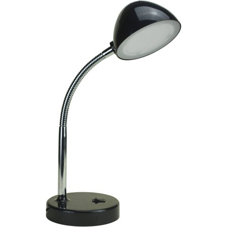 Mainstays 3.5 Watt LED Desk Lamp with USB Port, Gooseneck, (Best Lighting Ever Led Lamps)
