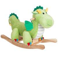 Dagwood Dragon Rocking Horse Animal Ride On Toy by Happy Trails