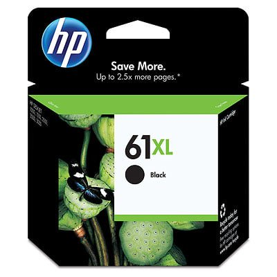 HP 61XL High Yield Black Original Ink Cartridge 1300 1300n 1300xi High Yield