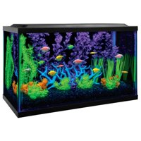 GloFish 10-Gallon Aquarium Kit With Filter, Conditioner and Fish Food