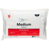 Mainstays 200TC Cotton Medium Support Pillow in Multiple Sizes