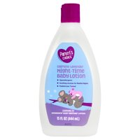 (4 Pack) Parent's Choice Night-Time Baby Lotion, Calming Lavender, 15 fl oz