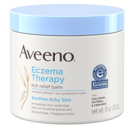 Aveeno Eczema Therapy Itch Relief Balm with Colloidal Oatmeal, 11 (La Source Hand Therapy Cream)
