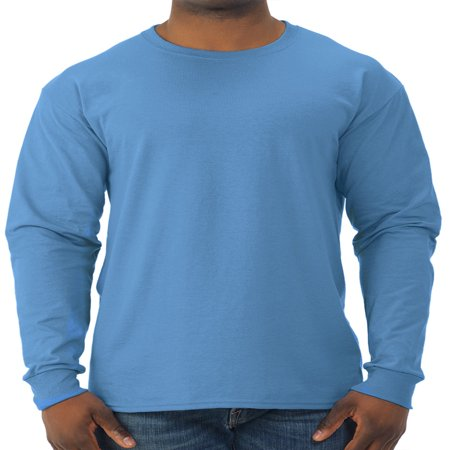 - Men's Dri-Power Long Sleeve Crewneck T Shirt