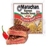 (24 Packs) Maruchan Picante Beef Instant Ramen, 3 oz