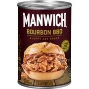 Manwich Bourbon BBQ Sloppy Joe Sauce, 16 oz