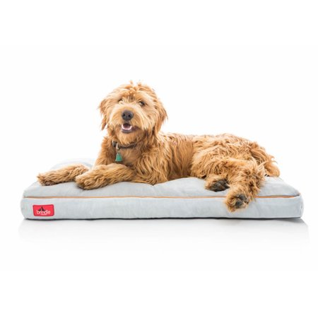 Greendog Dog Bed (Brindle Soft Memory Foam Dog Bed with Removable Washable Cover)