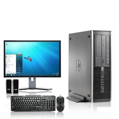 HP DC Desktop Computer 2.3 GHz Core 2 Duo Tower PC, 4GB RAM, 500 GB HDD, Windows 7